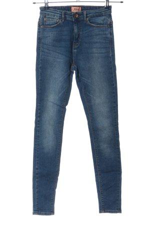 only blue denim High Waist Jeans