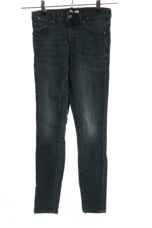 only blue denim Skinny Jeans hellgrau Casual-Look