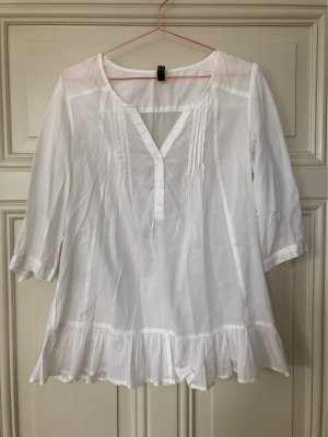 Only Long Blouse white