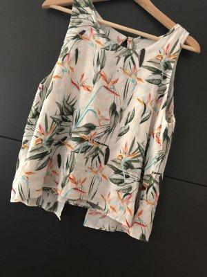 Only Bluse floral Muster und Rückendetail Größe 40 L