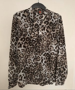 Only Bluse mit Leopardenmuster