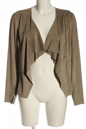 Only Blouse Jacket brown casual look