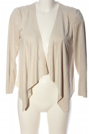 Only Blusenjacke creme Casual-Look