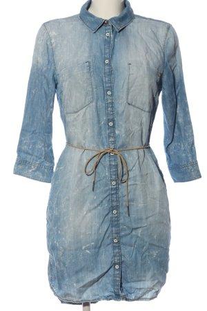 Only Blusenkleid blau Casual-Look