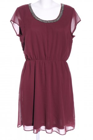 Only Blusenkleid rot Casual-Look
