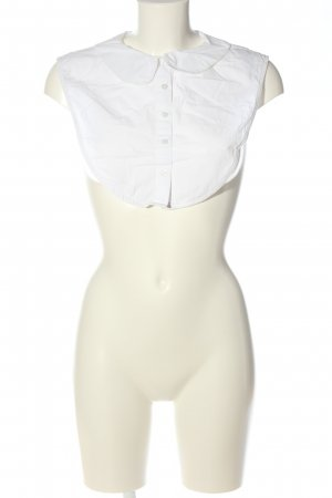 Only Kołnierzyk koszulowy biały Styl klasyczny