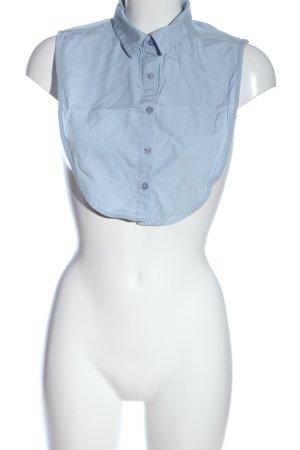Only Cols de blouses bleu style décontracté