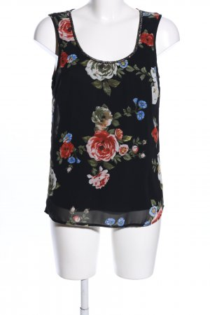 Only Blusentop Allover-Druck Casual-Look