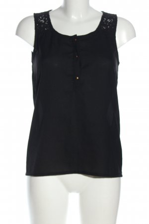 Only Blusentop blau Casual-Look