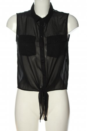 Only Blusentop schwarz Casual-Look
