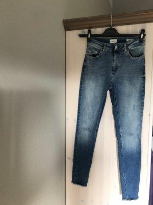 Only Jeans 7/8 bleu azur