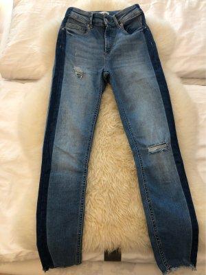 Only Jeansy o obcisłym kroju błękitny-niebieski