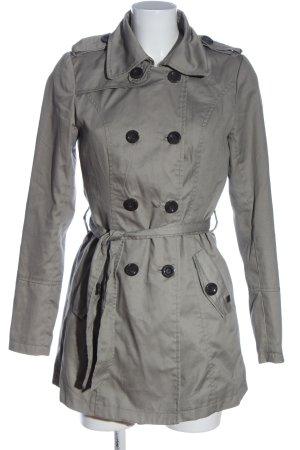 Only Cappotto lungo fino a terra grigio chiaro stile casual