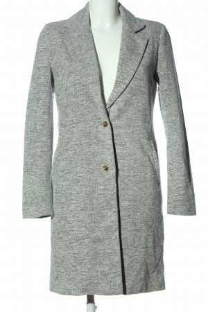 Only Floor-Lenght Coat light grey flecked casual look