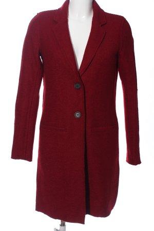 Only Cappotto lungo fino a terra rosso stile casual