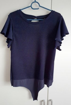 Only Body blau Glitzer 38 40 L