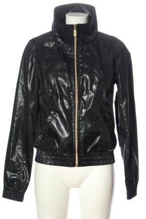 Only Bomberjack khaki-zwart volledige print elegant