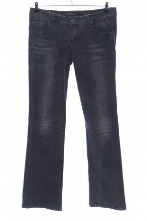 Only Boot Cut Jeans schwarz Casual-Look