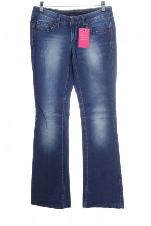 Only Boot Cut Jeans dunkelblau Casual-Look