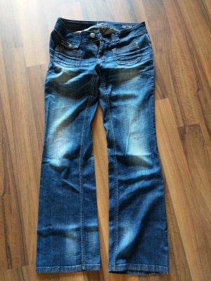 Only Jeanswear Jeans bootcut bleu foncé