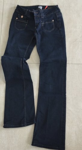 Only Bootcut Low Ebba, dunkelblau , W26/L31