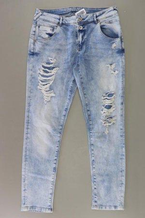Only Boyfriend Jeans Größe W28 blau aus Baumwolle
