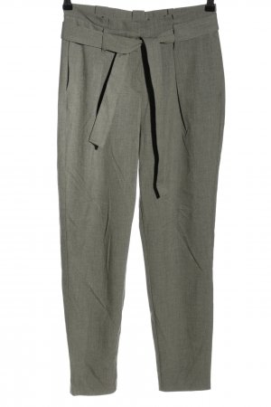 Only Bundfaltenhose hellgrau meliert Business-Look
