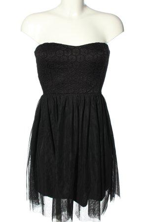 Only Bustierkleid schwarz Elegant