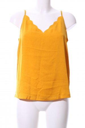 Only Camisole licht Oranje casual uitstraling