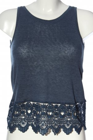 Only Camisole blauw casual uitstraling