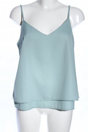 Only Camisole turkoois casual uitstraling