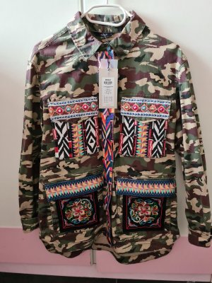 Only Military Jacket multicolored cotton