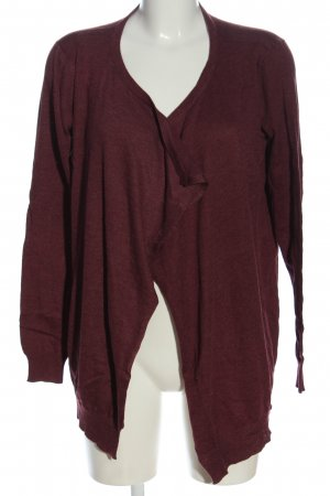 Only Cardigan rot meliert Casual-Look