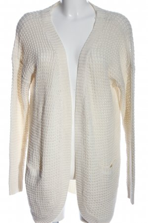 Only Cardigan creme Zopfmuster Casual-Look