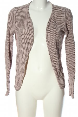 Only Cardigan schwarz-pink grafisches Muster Casual-Look