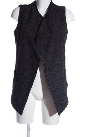 Only Gilet tricoté gris clair style décontracté