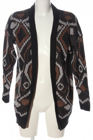 Only Cardigan Allover-Druck Casual-Look