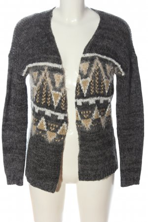Only Cardigan grafisches Muster Casual-Look