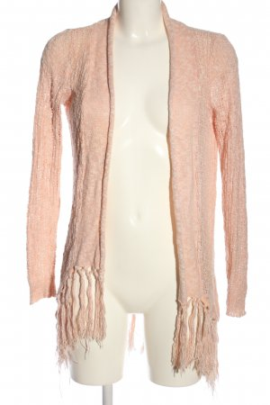 Only Cardigan creme meliert Casual-Look