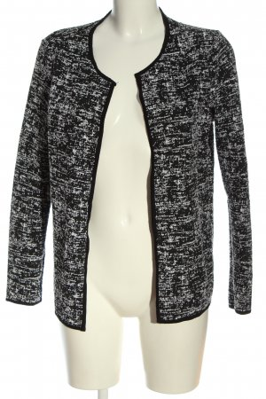 Only Cardigan schwarz abstraktes Muster Business-Look