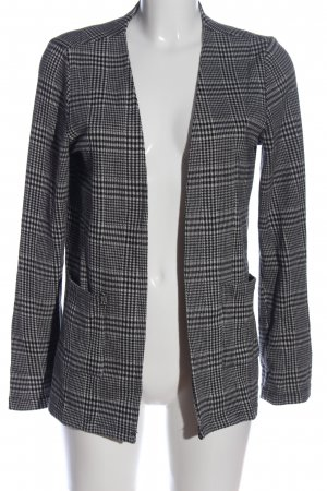 Only Cardigan hellgrau Allover-Druck Business-Look