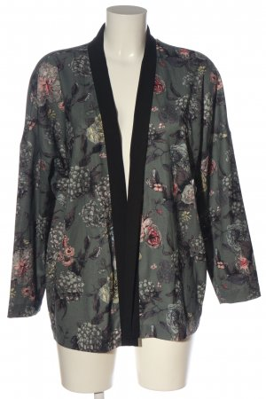 Only Cardigan hellgrau-pink Allover-Druck Casual-Look