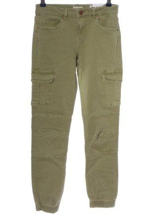 Only Pantalon cargo kaki style décontracté