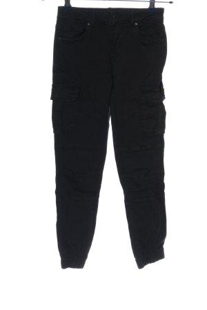Only Pantalon cargo noir style d'affaires