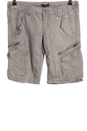 Only Pantalon cargo gris clair style décontracté