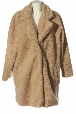 Only Carmakoma Fake Fur Jacket nude casual look