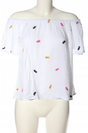 Only Carmen blouse veelkleurig casual uitstraling