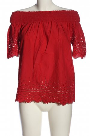 Only Carmen-Bluse rot Casual-Look