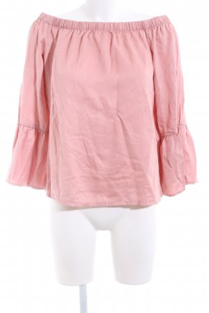 Only Carmen Shirt pink casual look