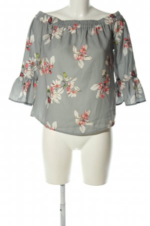 Only Carmen shirt volledige print casual uitstraling